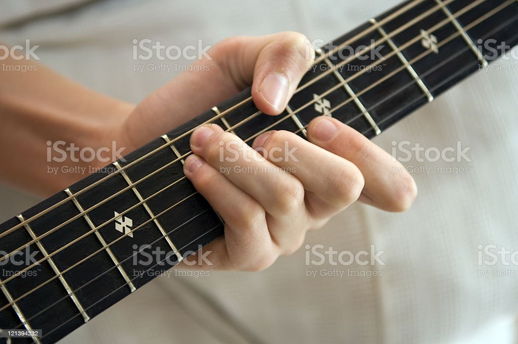 Guitar Chord royalty-free stock photo