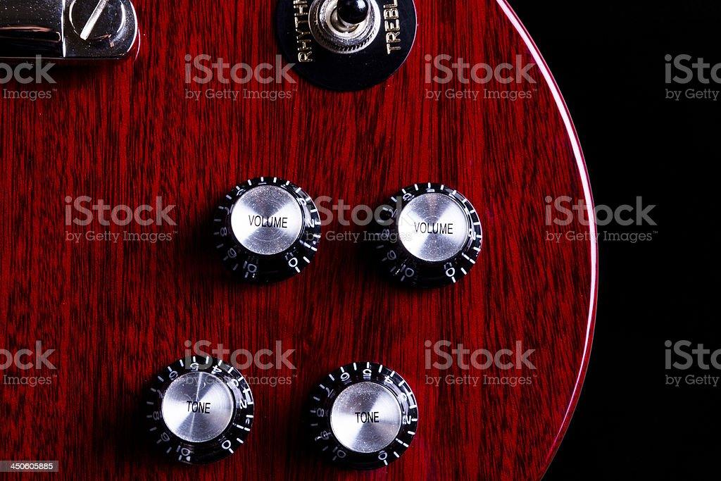 Guitar Close up royalty-free stock photo
