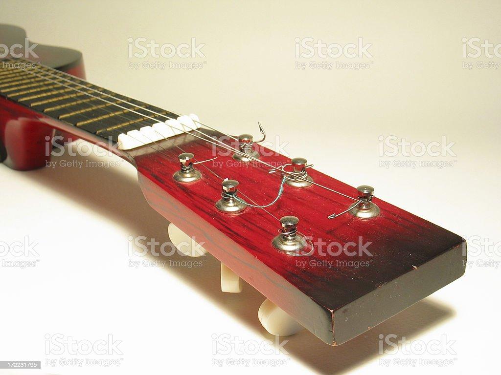 Guitar closeup royalty-free stock photo