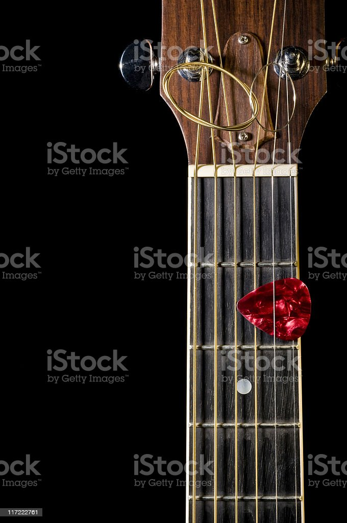 Guitar Fretboard royalty-free stock photo