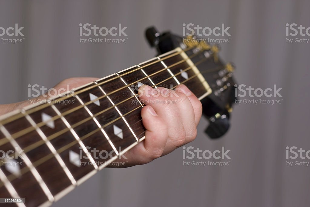 Guitar Fretboard stock photo
