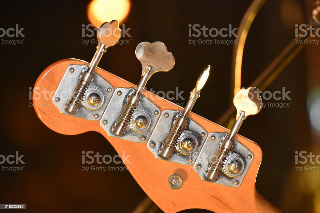 Guitar Head stock photo