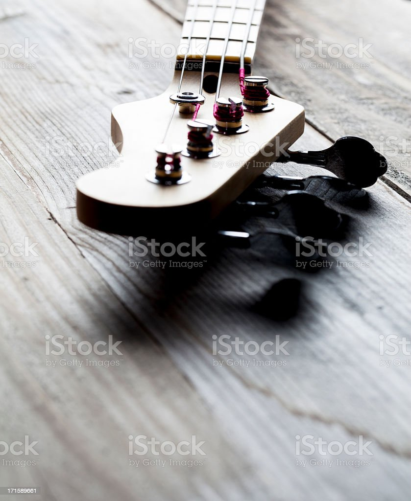 Guitar Headstock stock photo