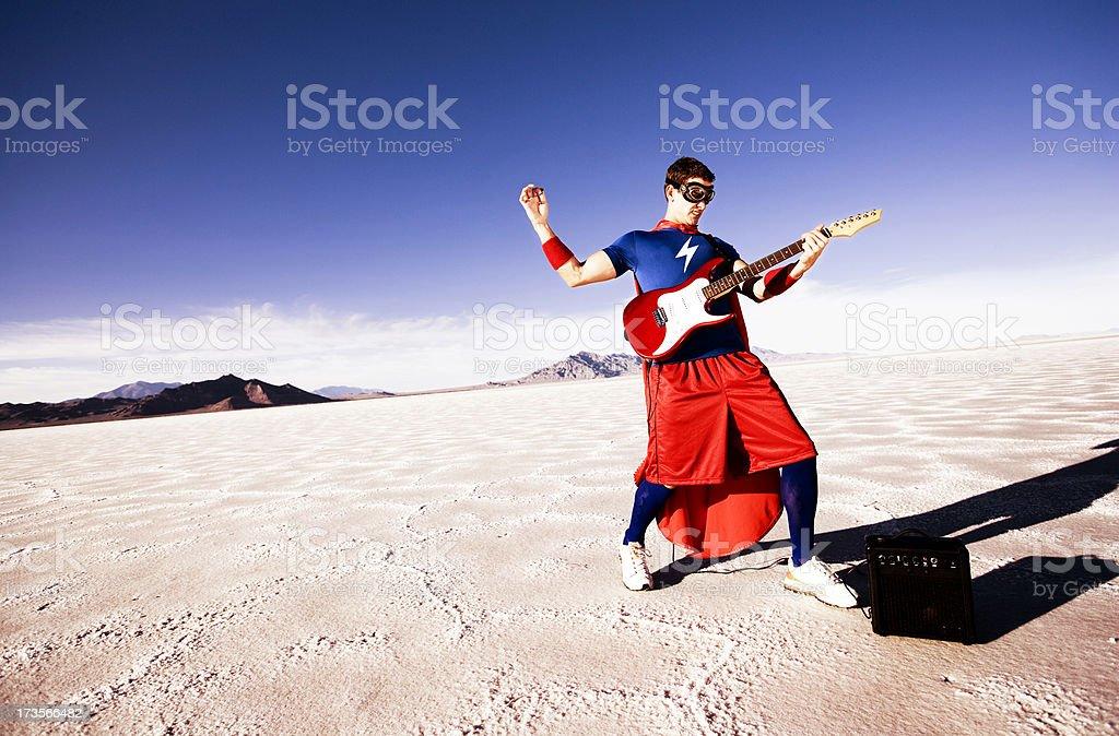 Guitar Hero stock photo