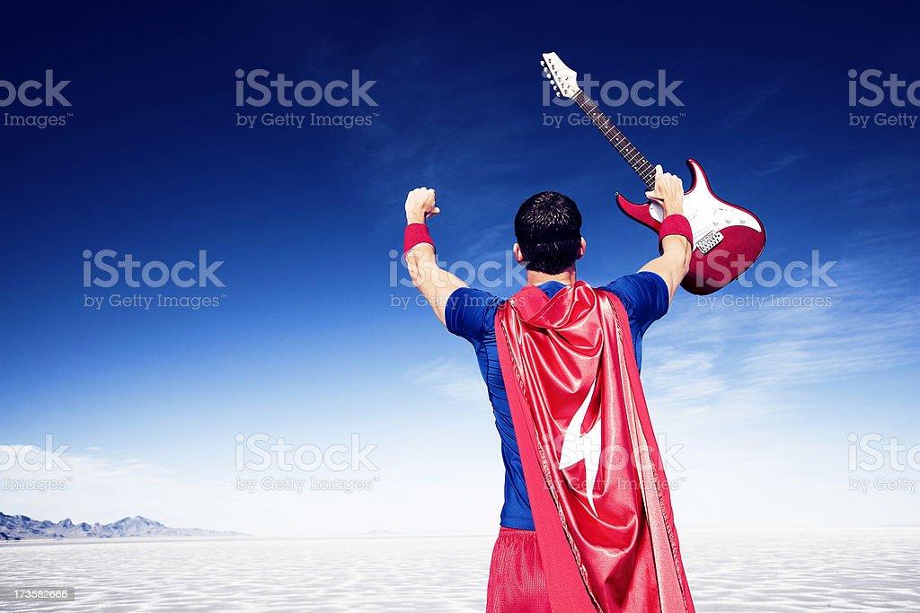 Guitar Hero Victory stock photo