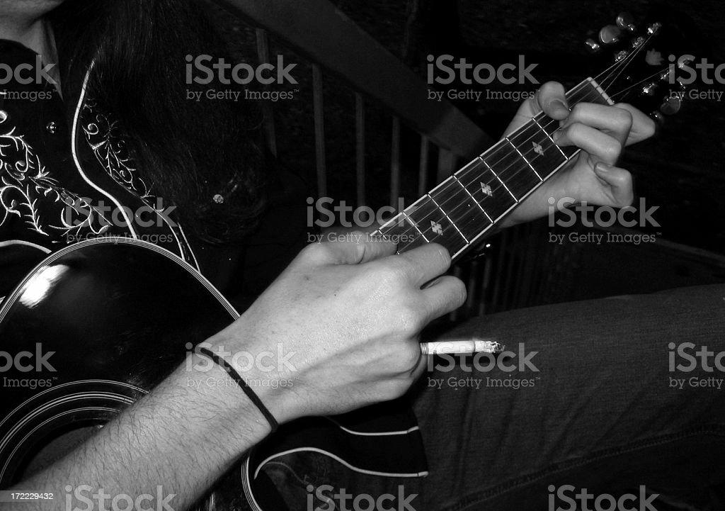 guitar I stock photo
