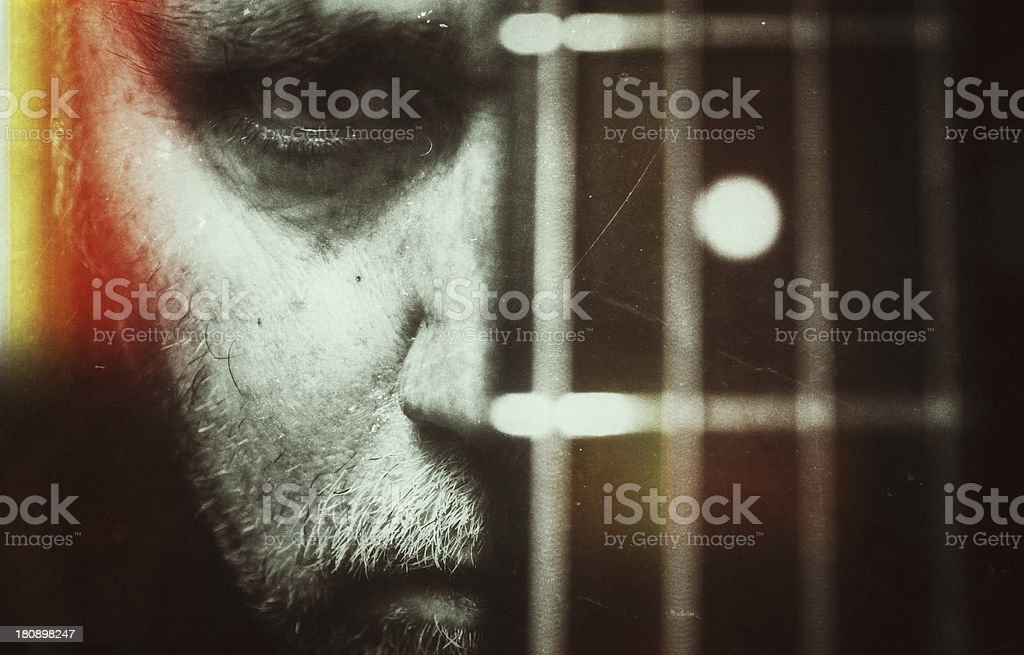 Guitar is a way of life stock photo
