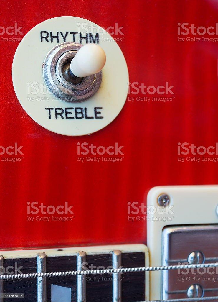 guitar knob royalty-free stock photo