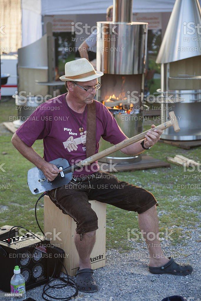 Guitar man royalty-free stock photo
