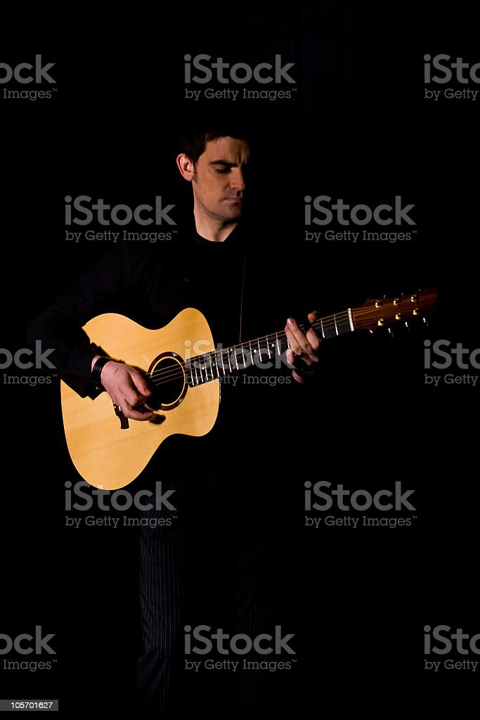 Guitar Nights stock photo