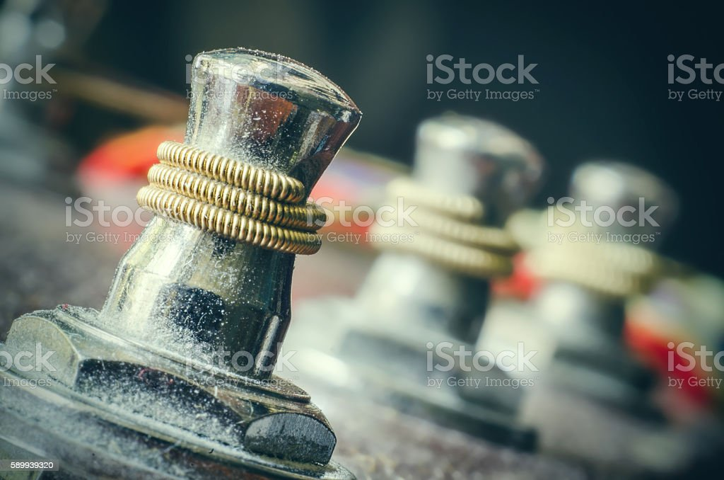 guitar peg stock photo
