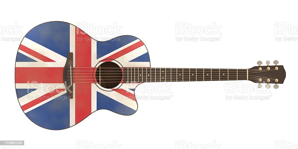 英国ギター ロイヤリティフリーストックフォト