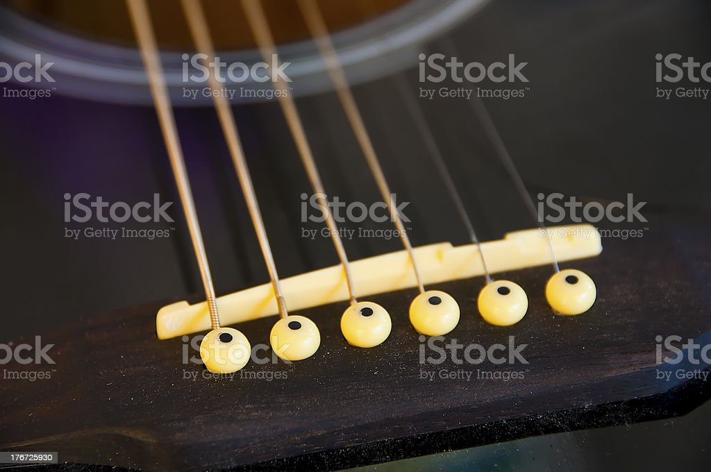 Guitar. royalty-free stock photo