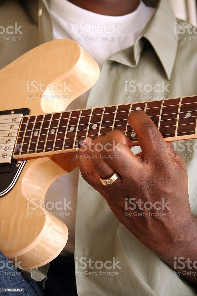 Guitar Player 3 royalty-free stock photo