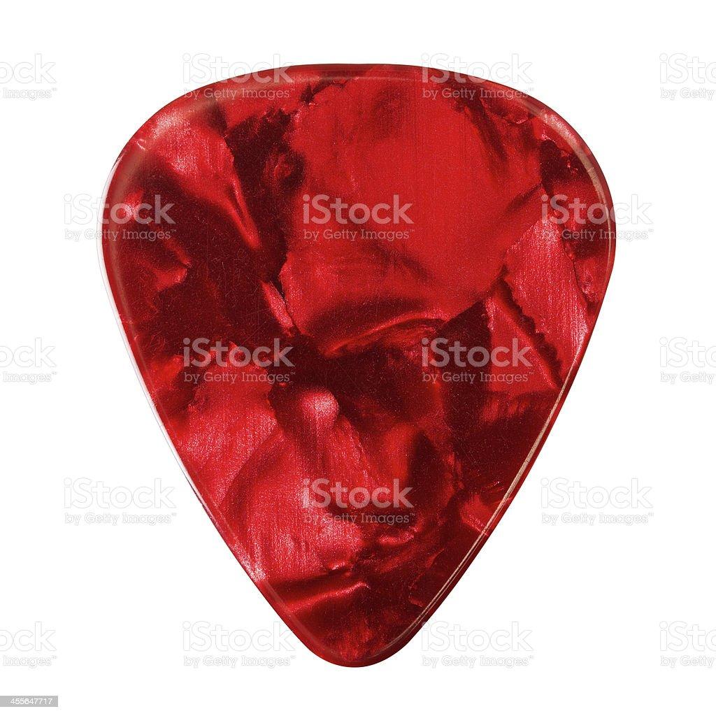 Guitar Plectrum stock photo