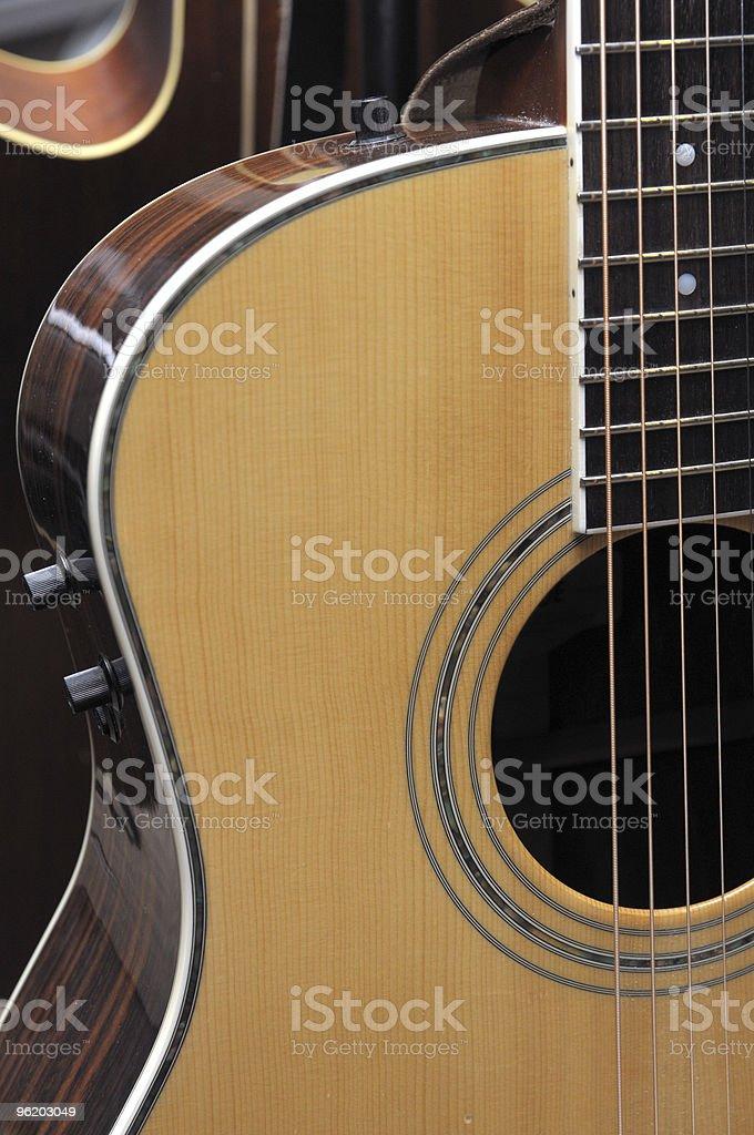 Guitar Profile royalty-free stock photo
