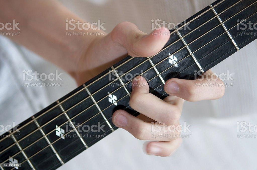 Guitar Riff stock photo