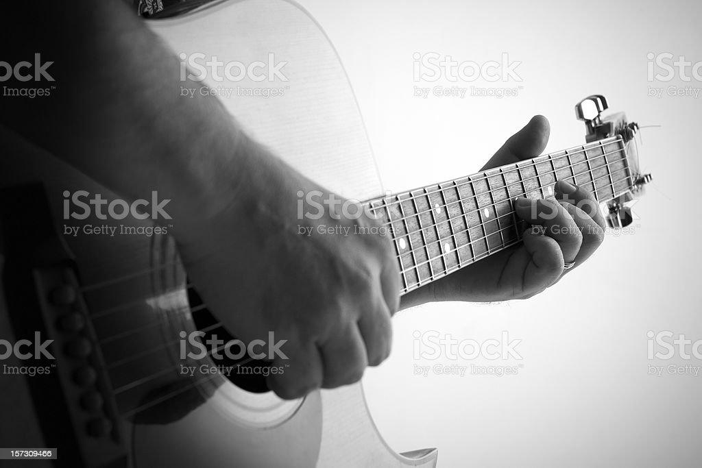 guitar singer royalty-free stock photo