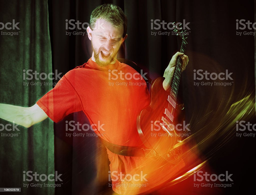 Guitar Solo royalty-free stock photo