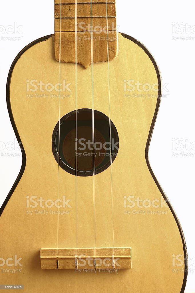 Guitar Ukulele royalty-free stock photo