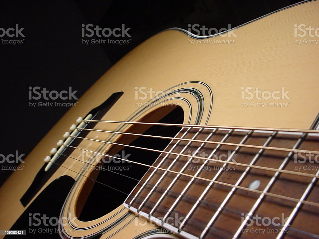 Guitarable royalty-free stock photo