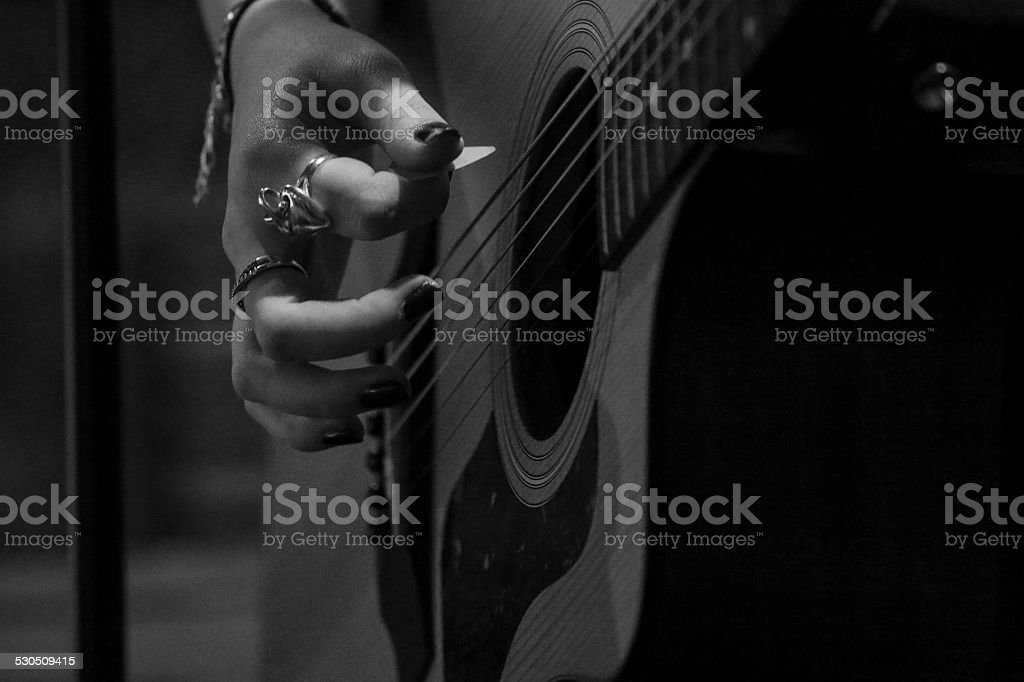 Guitare stock photo