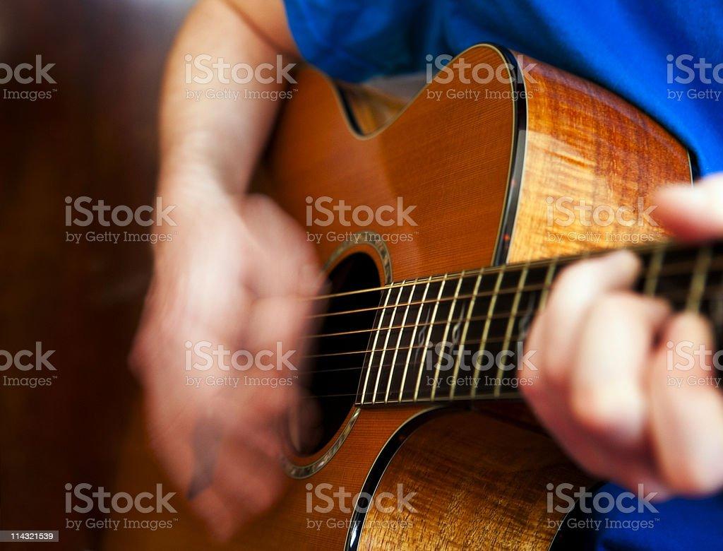 Guitarist stock photo