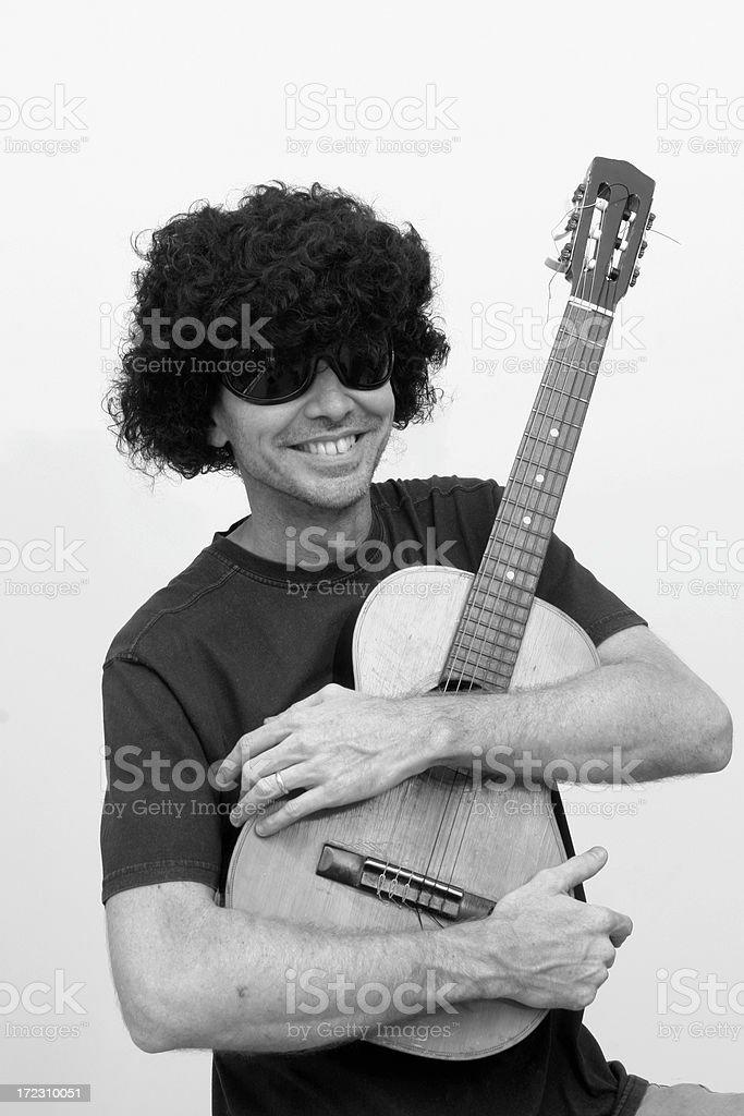 Guitarman royalty-free stock photo