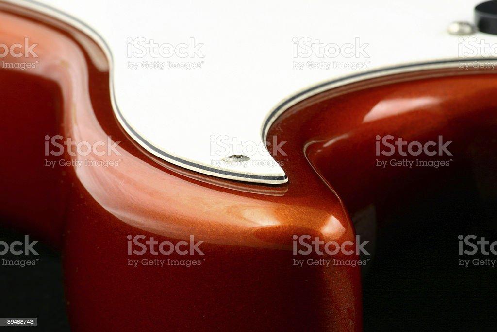 Guitar's rounds stock photo