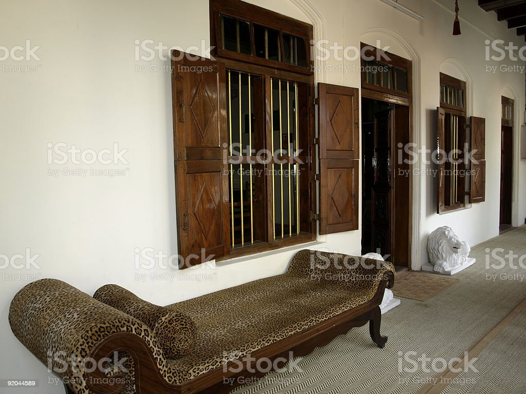 Gujarat home,India. royalty-free stock photo