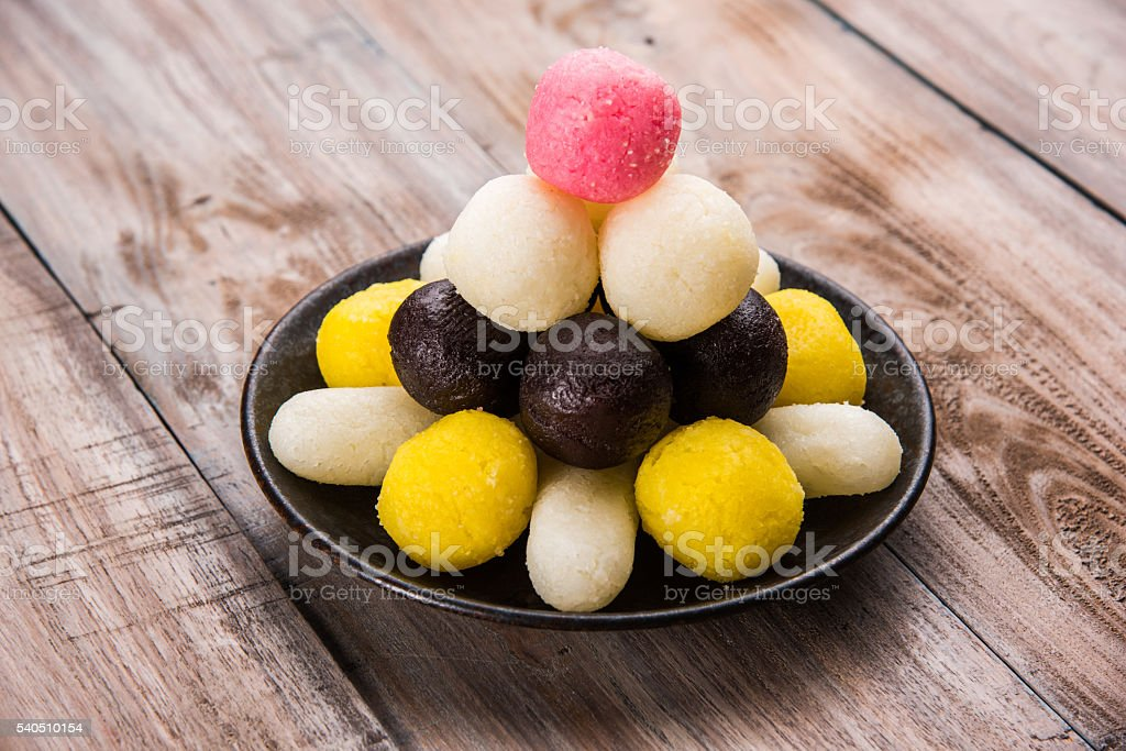 gulab jamun / rasgulla / chamcham / kala jam stock photo