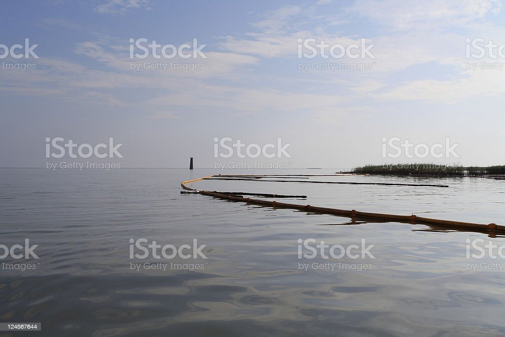 Gulf Coast Oil Spill royalty-free stock photo