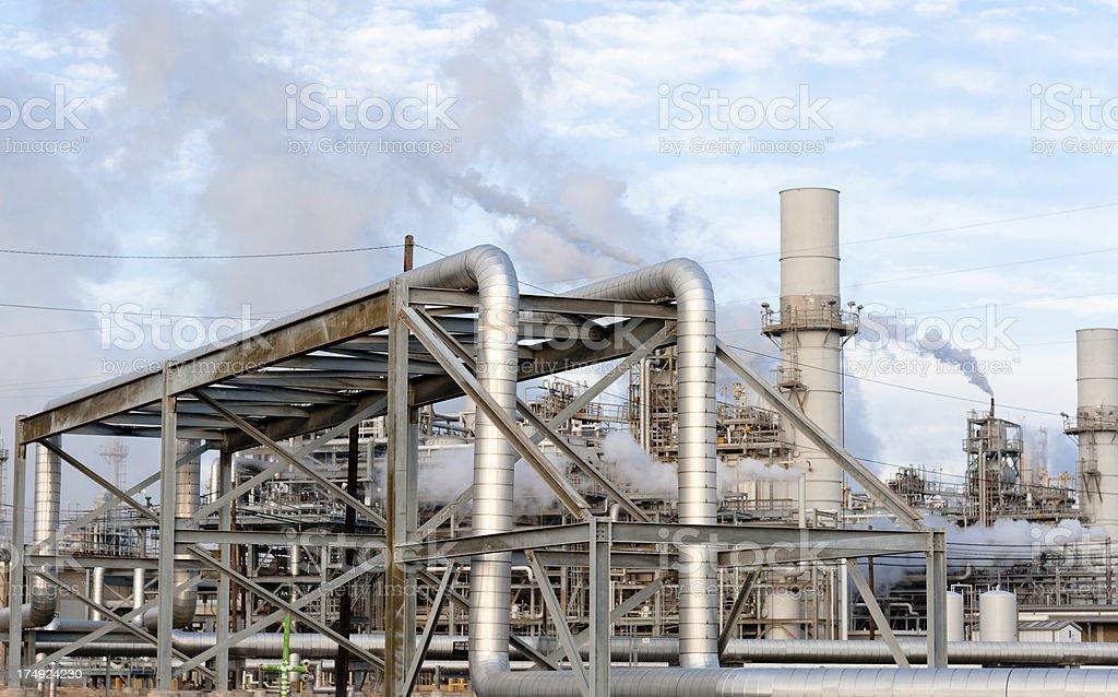 Gulf Coast Refinery royalty-free stock photo