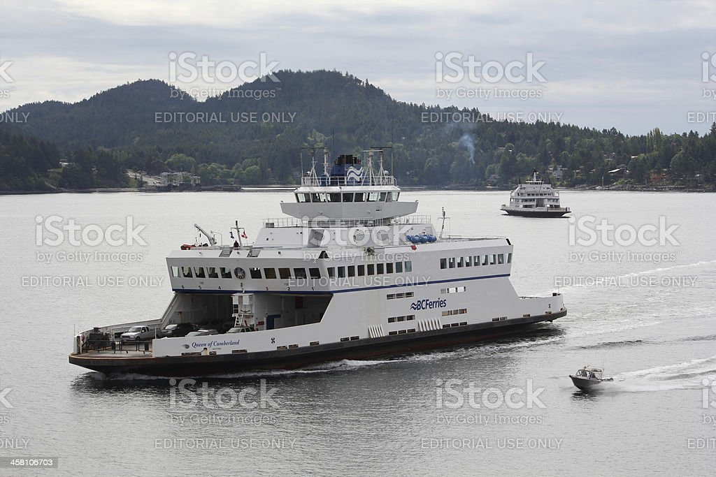 Gulf Islands Ferries, British Columbia, Canada stock photo