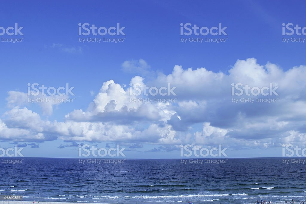 Gulf of Mexico stock photo