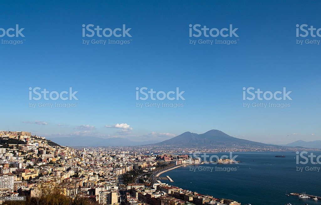 Golfo di Napoli stock photo