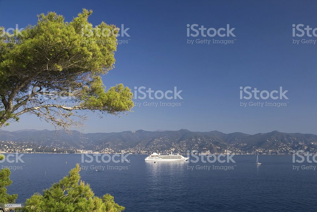 Golfo del Tigullio stock photo