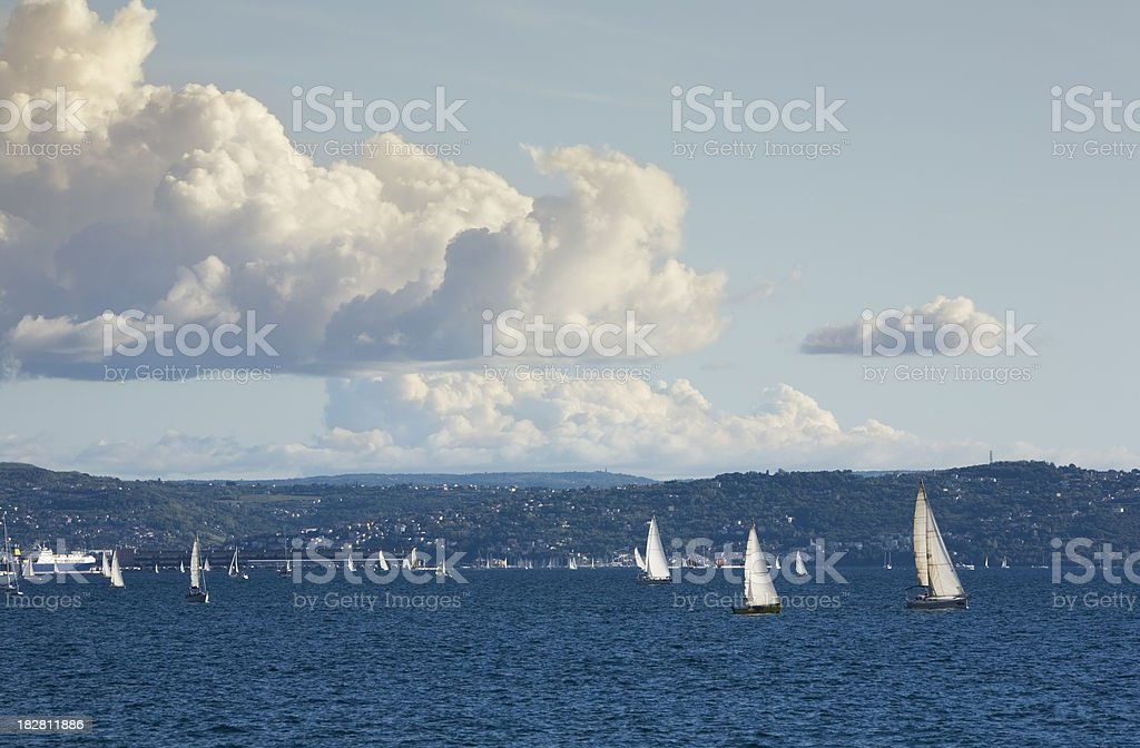 Gulf of Trieste stock photo