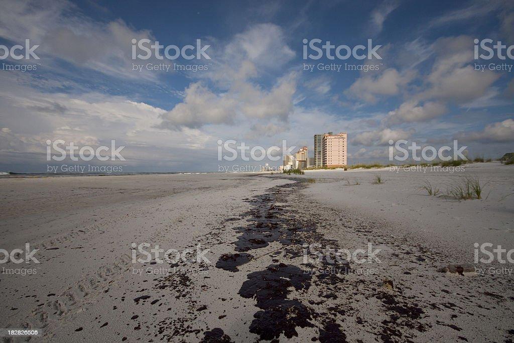 Gulf Oil Spill stock photo