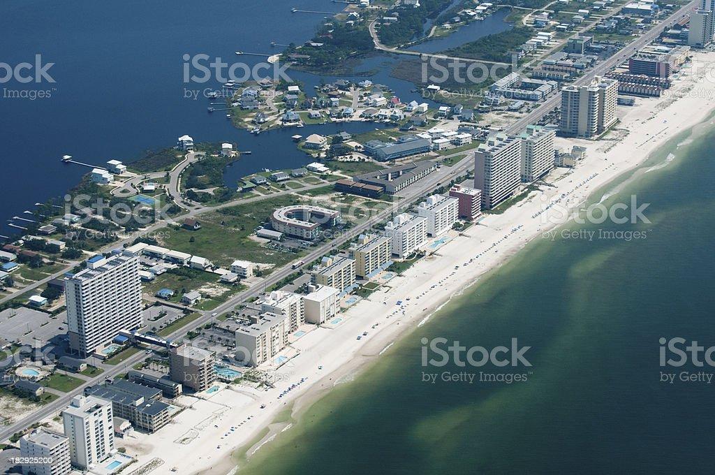 Gulf Shores Beaches stock photo