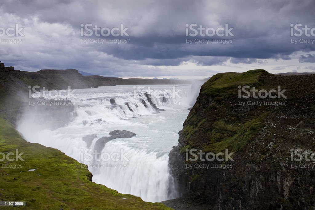 Gullfoss Waterfall, Iceland royalty-free stock photo