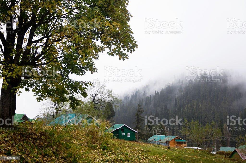 Gulmarg stock photo