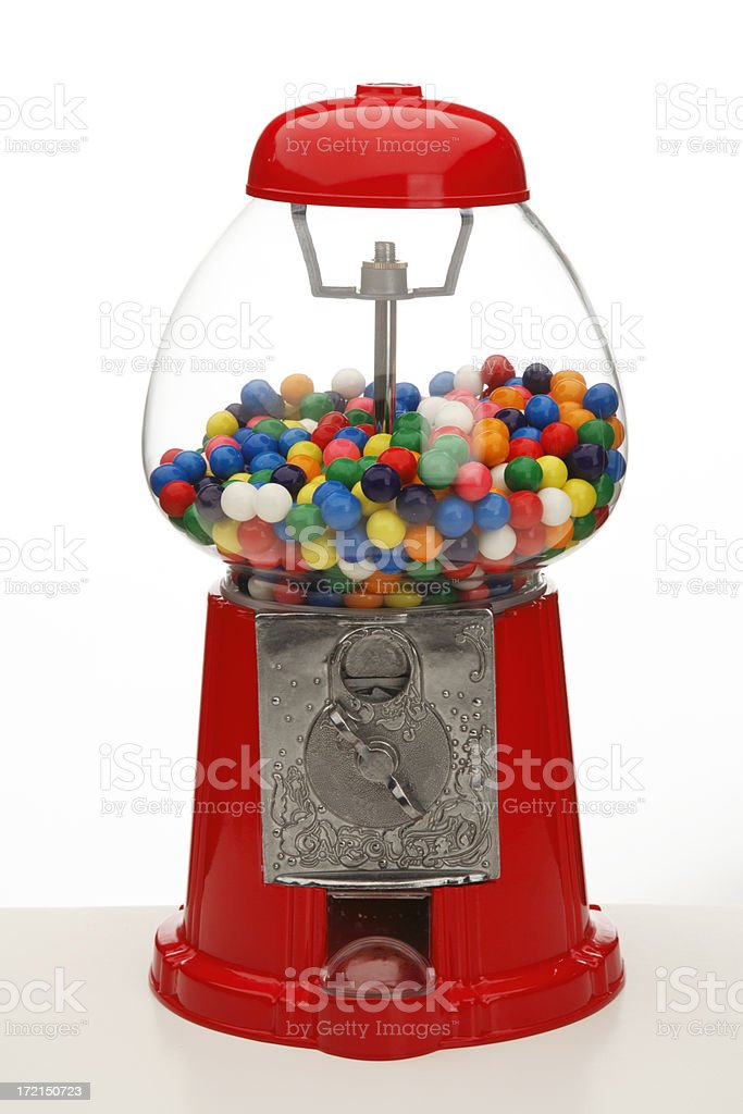 Gum Ball Machine royalty-free stock photo