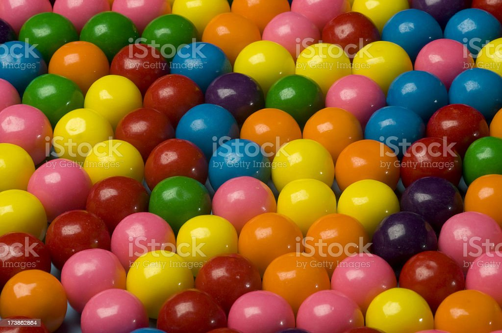 Gum Balls royalty-free stock photo