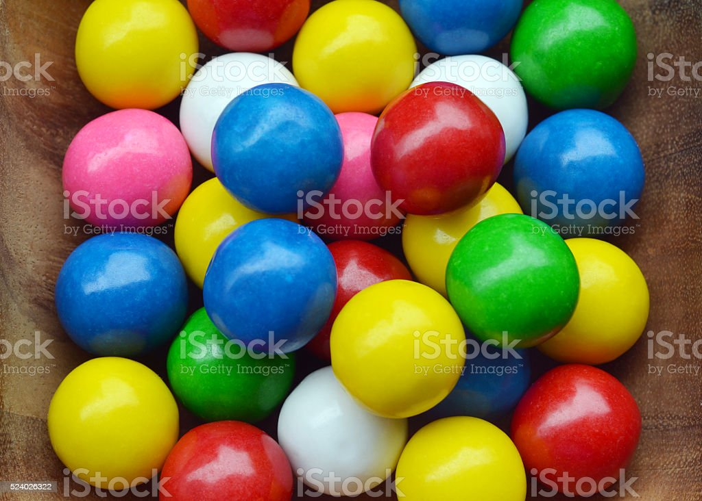 Gum Balls stock photo