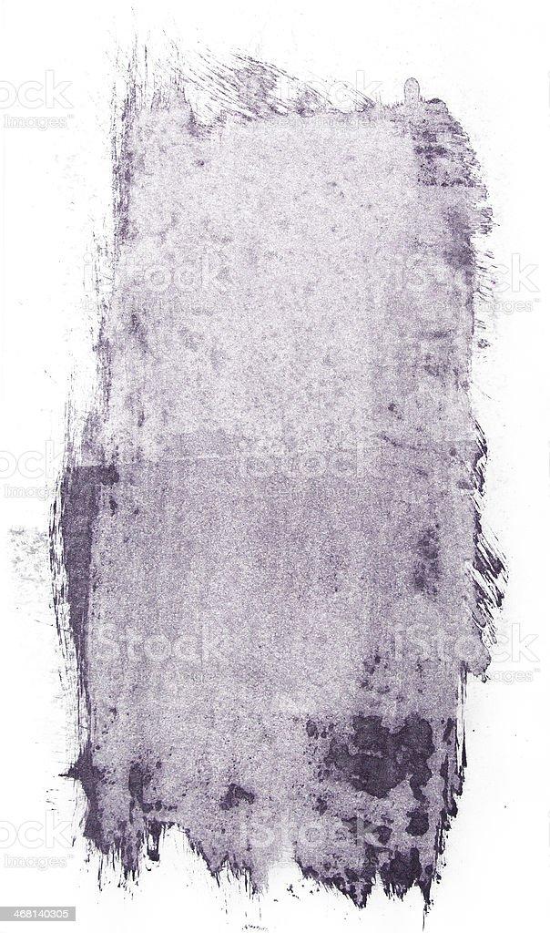 Gum bichromate paint splash stock photo