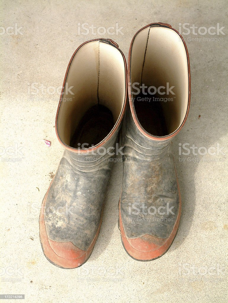 Gum Boots royalty-free stock photo