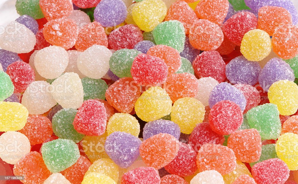 Gum Drops stock photo