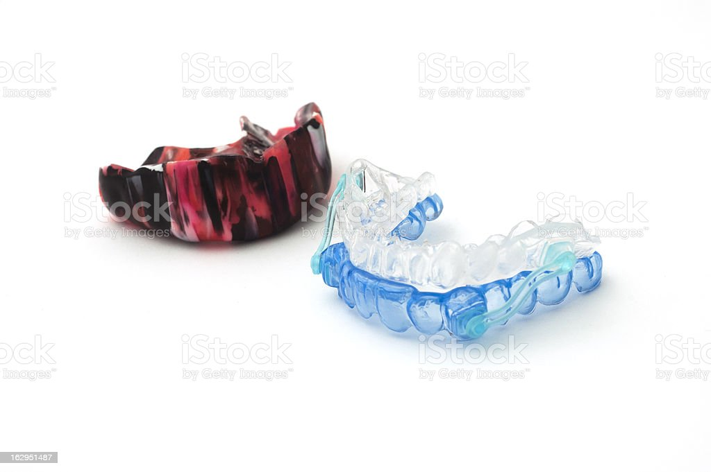 gum shield stock photo