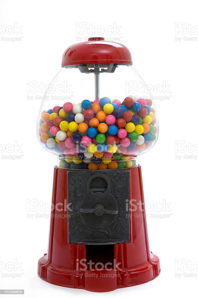 gumball machine royalty-free stock photo